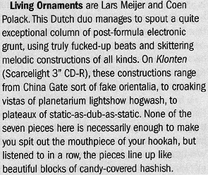 nm022-living-ornaments-klonten-the-wire-review